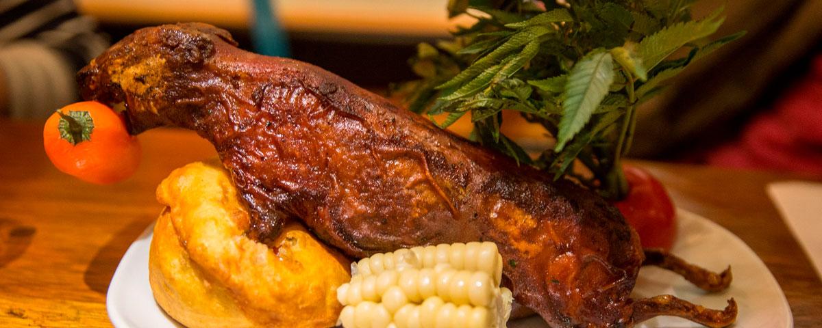 Resultado de imagem para la morena restaurante cusco